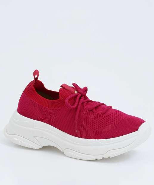 Image_Tênis Feminino Chunky Sneaker Textura Bebecê