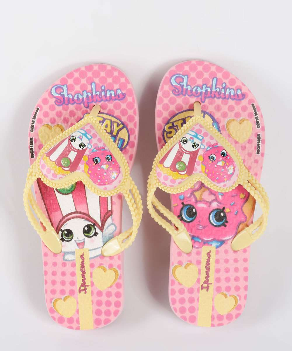 Chinelo Infantil Shopkins Ipanema 26294
