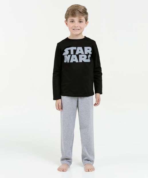 Image_Pijama Infantil Estampa Star Wars Manga Longa Disney