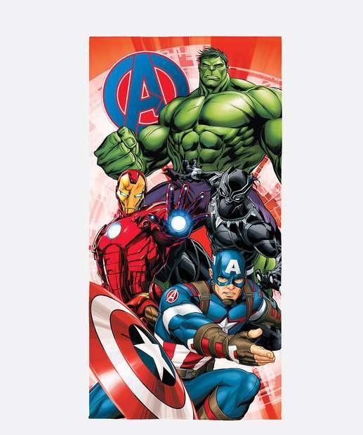 Image_Toalha de Praia Infantil Aveludada Estampa Avengers Lepper