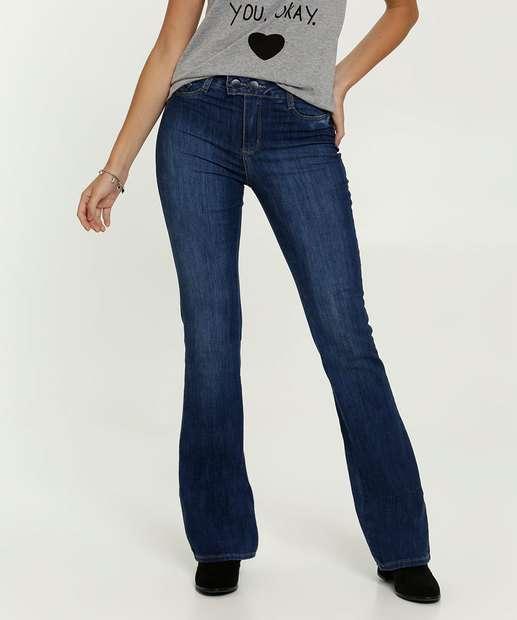Image_Calça Jeans Flare Feminina Sawary
