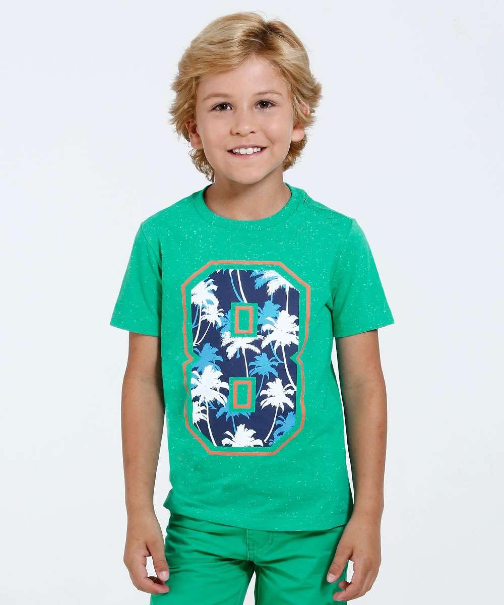 Image_Camiseta Infantil Estampa Coqueiro Marisa