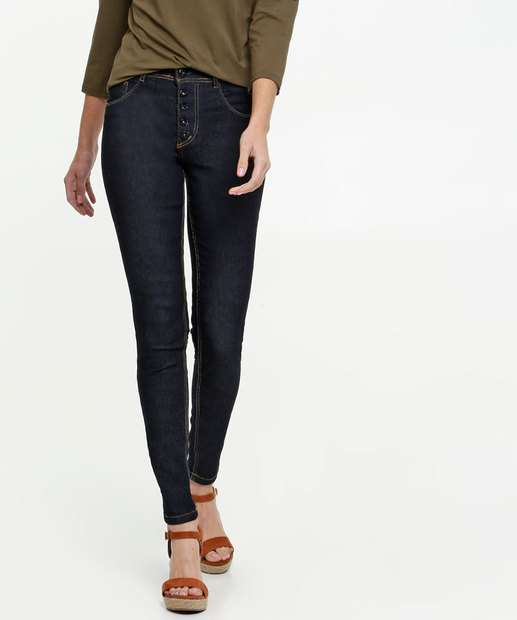 Image_Calça Jeans Skinny Feminina Botão Biotipo