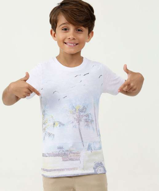 Image_Camiseta Infantil Estampa Tropical Manga Curta MR