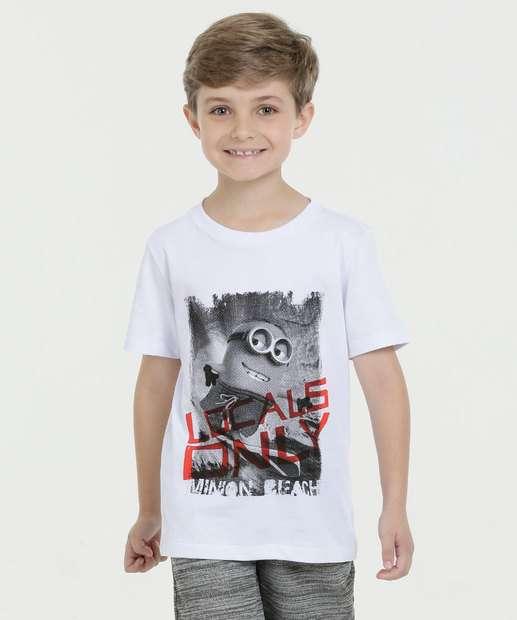 Image_Camiseta Infantil Minions Manga Curta Minion