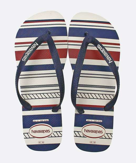 Image_Chinelo Havaianas Masculino Listrado Top Nautical