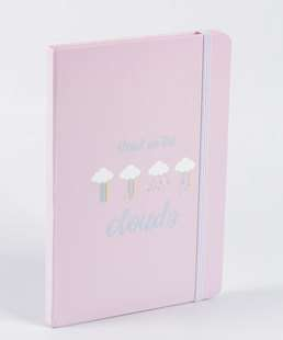 Caderneta Anotações Estampa Nuvens Marisa
