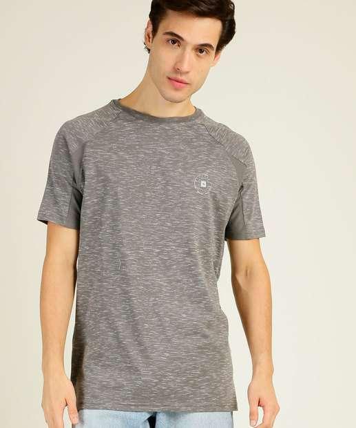 Image_Camiseta Masculina Flamê Estampa Frontal Manga Curta Nicoboco