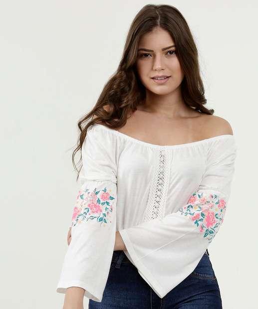 fa86e5a5e5e9 Blusas Ciganinha | Promoção de blusas ciganinha na Marisa