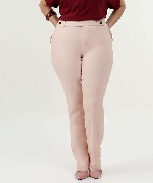 Image_Calça Feminina Bengaline Boot Cut Plus Size Gups