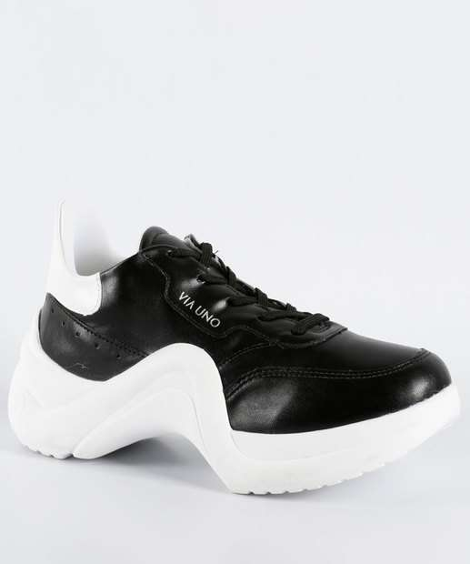 Image_Tênis Feminino Chunky Sneaker Via Uno 374001