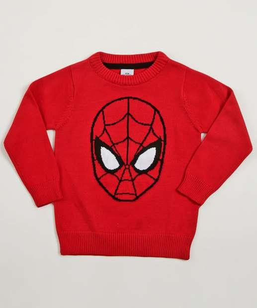 Image_Suéter Infantil Homem Aranha Marvel
