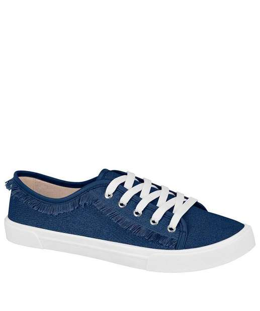 Image_Tênis Feminino Casual Jeans Franjas Moleca 5296124
