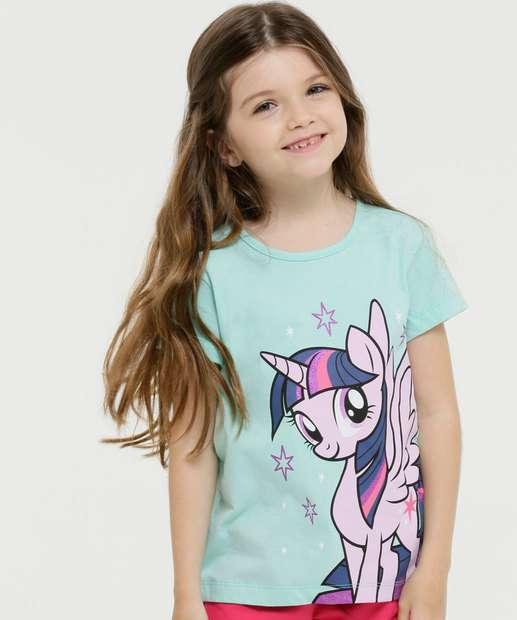 Image_Blusa Infantil Manga Curta My Little Ponny Tam 4 a 10