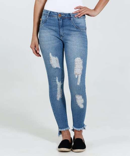 Image_ Calça Feminina Jeans Skinny Puidos Biotipo