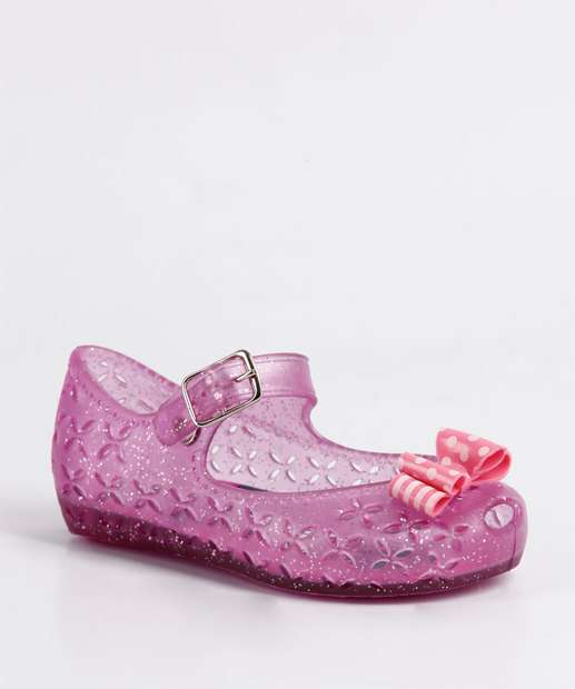 Image_Sapatilha Infantil Glitter Minnie Disney