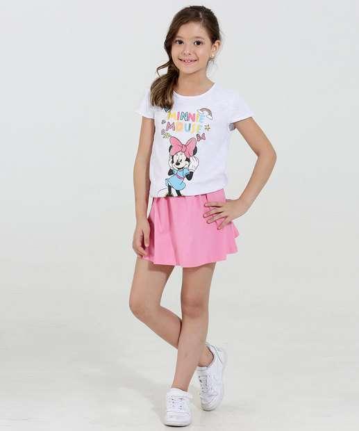 Image_Conjunto Infantil Estampa Minnie Glitter Disney