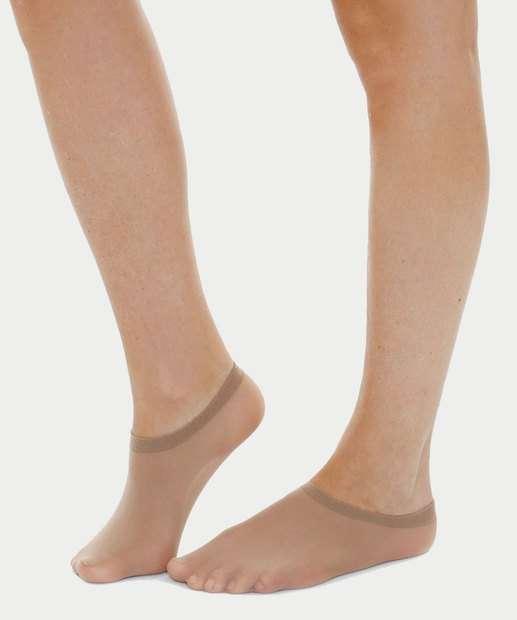 66502ba66 Kit 2 meias sapatilhas fio 40 Marisa