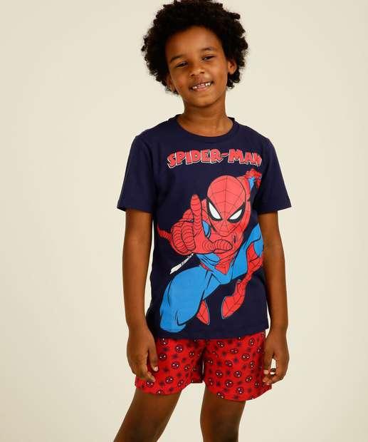 Image_Pijama Infantil Manga Curta Homem Aranha Marvel Tam 4 a 12