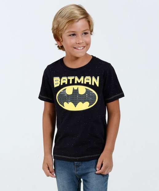 Image_Camiseta Infantil Manga Curta Batman Liga da Justiça Marisa