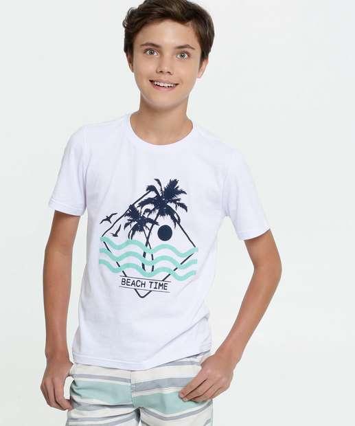 Image_Camiseta Juvenil Estampa Surf Manga Curta MR