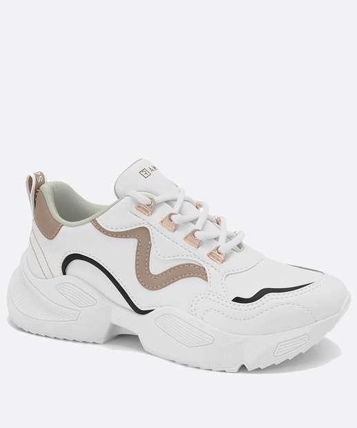 Image_Tênis Feminino Sneaker Recorte Ramarim