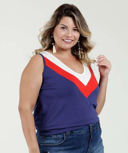 Image_Regata Feminina Recorte Plus Size Luktal