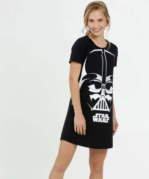 Image_Camisola Feminina Estampa Darth Vader Star Wars Disney