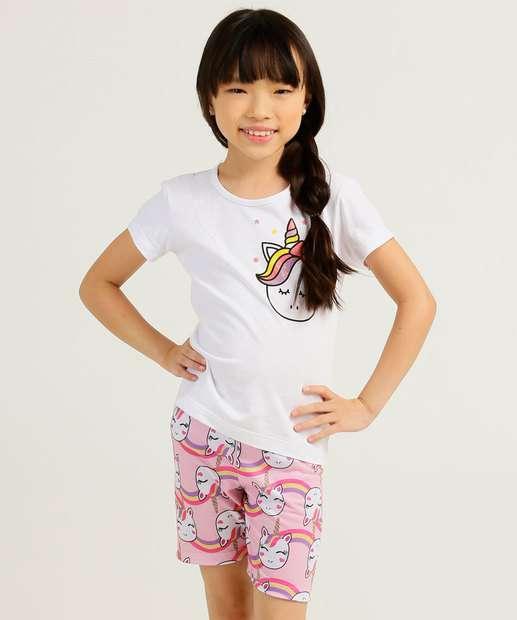 Image_Pijama Infantil Estampa Unicórnio Marisa Tam 4 ao 10