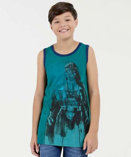 Image_Regata Juvenil Estampa Darth Vader Star Wars Disney