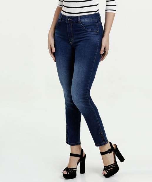 Image_Calça Feminina Cigarrete Jeans Stretch Biotipo