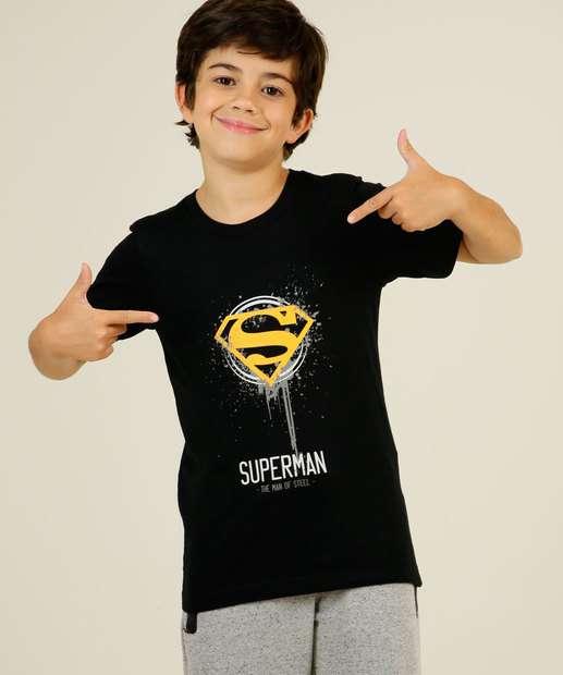 Image_Camiseta Infantil Super Homem Liga da Justiça Tam 4 a 10
