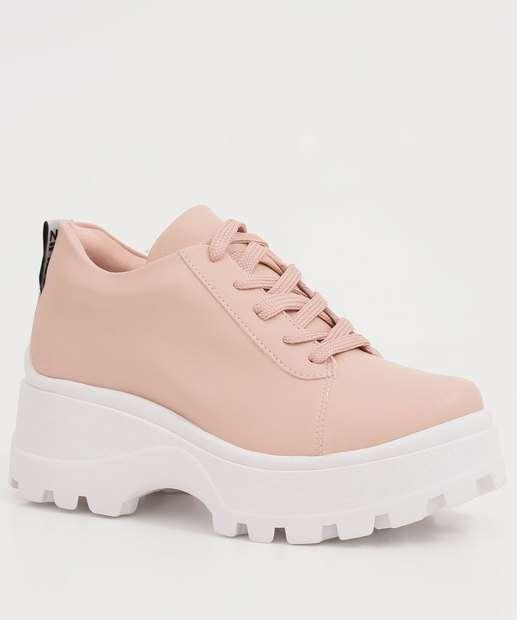Image_Tênis Feminino Chunky Sneaker Plataforma Tratorado Quiz