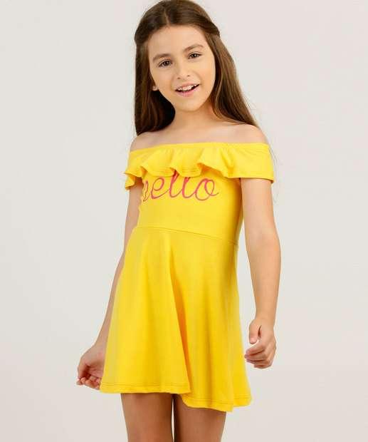 Image_Vestido Infantil Ciganinha Babado Tam 4 a 10