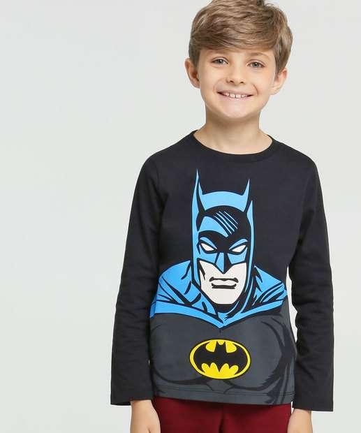 Image_Camiseta Infantil Batman Manga Longa Liga da Justiça