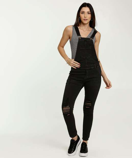 Image_Macacão Feminino Sarja Destroyed Zune Jeans By Sabrina Sato