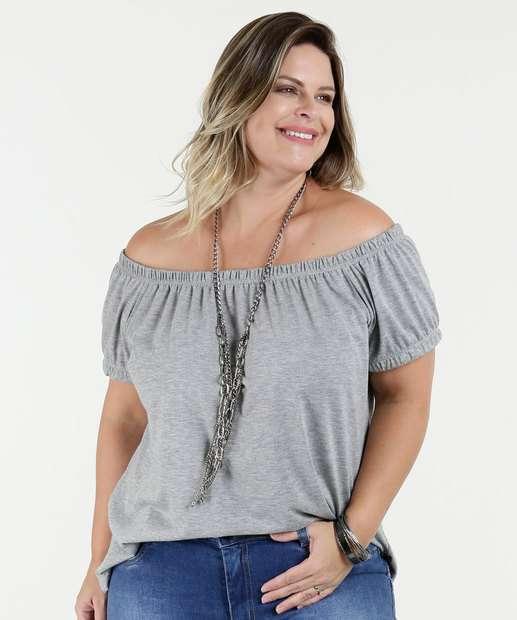 Image_Blusa Feminina Ombro a Ombro Plus Size Ody