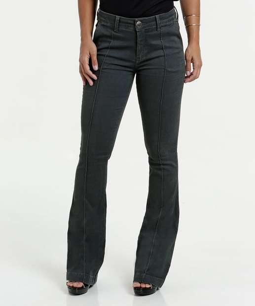 Image_Calça Feminina Jeans Flare Five Jeans