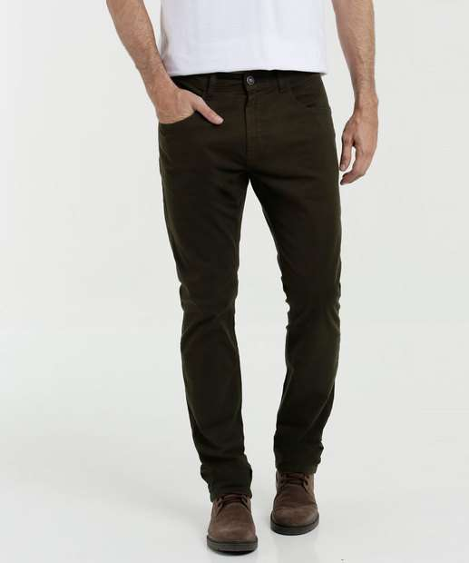 Image_Calça Masculina Sarja Stretch Mr