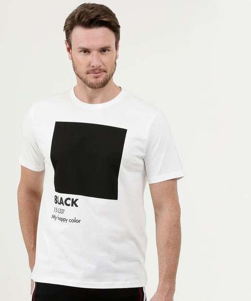 Image_Camiseta Masculina Estampa Frontal Manga Curta MR