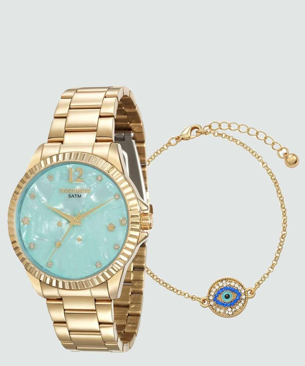 Kit Relógio Feminino Mondaine 99128LPMKDE1K2