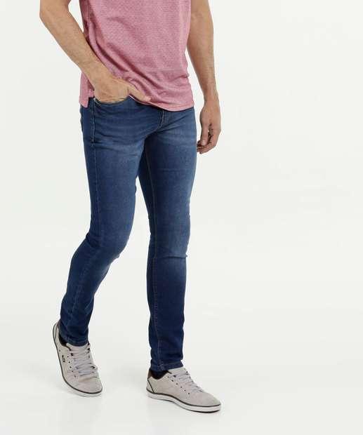 Image_Calça Masculina Jeans Skinny Bolsos