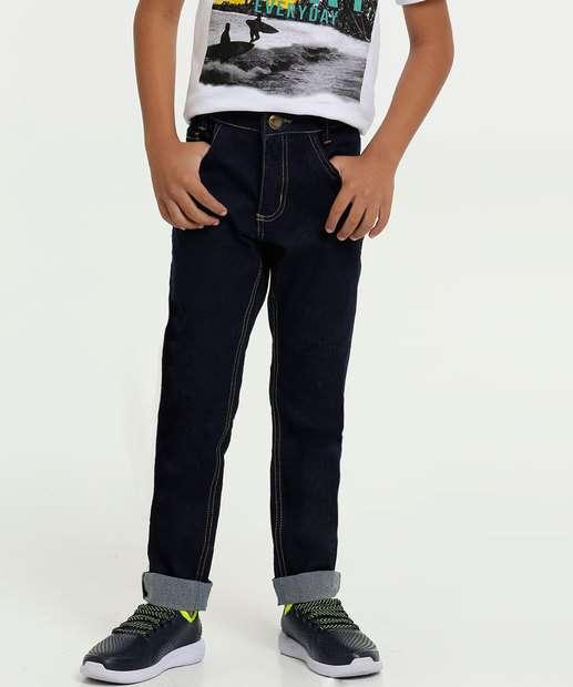 Image_Calça Infantil Jeans Bolsos Stretch