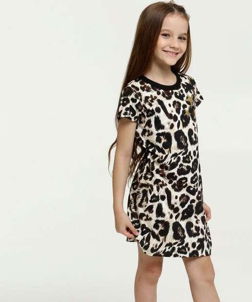 Image_Vestido Infantil Estampa Animal Print Brandili