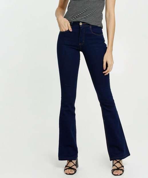 Image_Calça Feminina Jeans Stretch Flare Biotipo