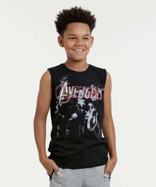 Image_Regata Juvenil Os Vingadores Marvel