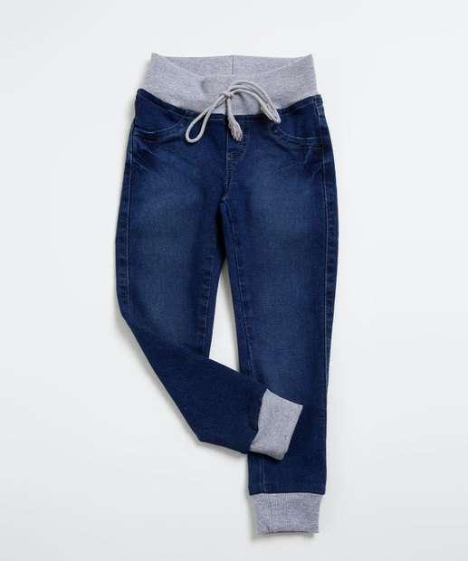 Image_Calça Infantil Jeans Jogger Marisa