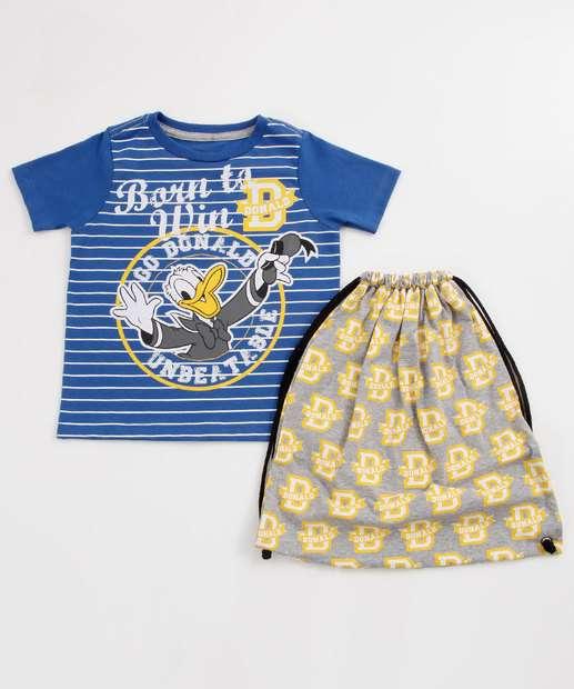 Image_Camiseta Infantil Estampa Pato Donald Brinde Disney