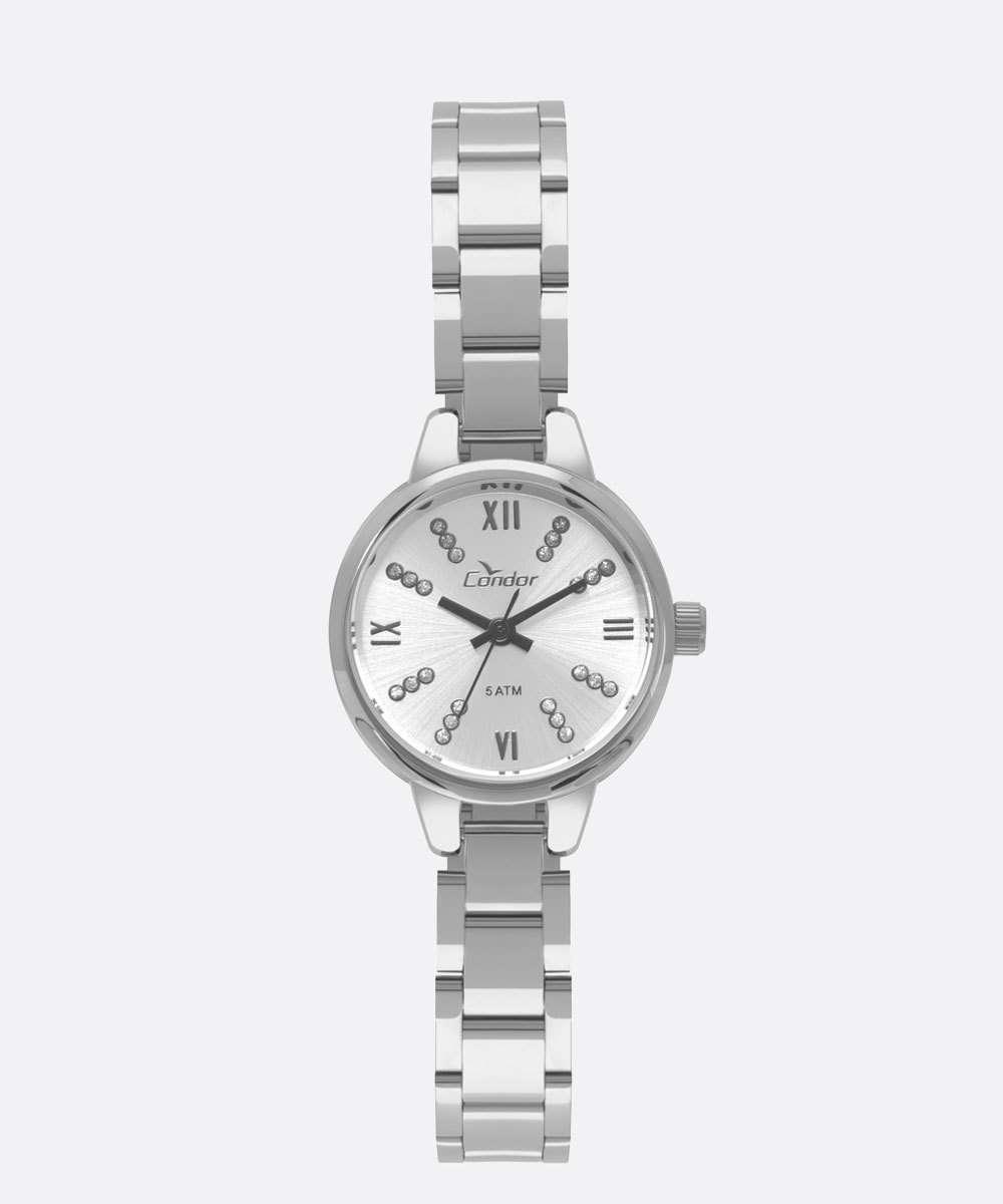 Relógio Feminino Strass Condor CO2035KYH3K