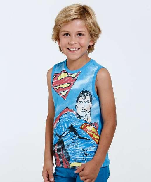 Image_Regata Infantil Super Homem Liga da Justiça